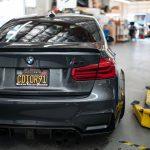 BMW 3 Series M3 2016-2018 (F30/F80 LCI) Taillight Overlay