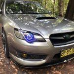 Subaru Liberty Gen 4 Vinyl Eyelids